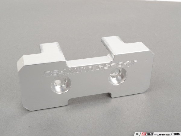 ES#2864605 - 034-509-4014 - Transmission Mount Insert - This billet aluminum insert is designed to fill the large void in the factory transmission mount - 034Motorsport - Audi