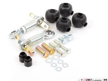 ES#2864589 - 034-402-4004 - Adjustable rear Sway Bar End Links - Pair - Replace your flimsy, sloppy OEM sway bar end links with these performance engineered adjustable spherical endlinks - 034Motorsport - Audi