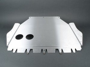 "ES#2840602 - U02 - Rennline Aluminum Skid Plate Kit - Replace your inferior plastic belly pan with Rennline's 1/8th"" aluminum skid plate - Rennline - Audi Volkswagen"