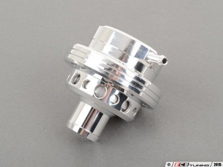 ES#2765467 - FMDV004A - Blow Off Valve - Polished - Made to mount on top of hard boost pipe. Side vacuum port. - Forge - Audi Volkswagen
