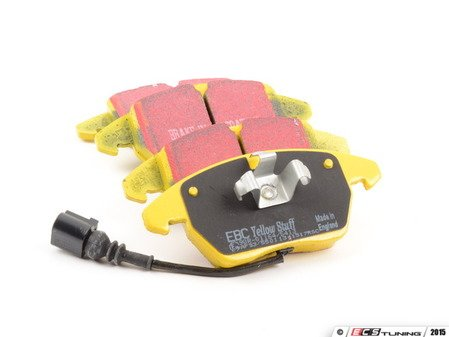 ES#2153465 - DP41997R - Front YellowStuff Performance Brake Pad Set - A race quality pad that can be used at the track and back home again. - EBC - Audi Volkswagen