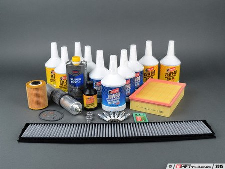 """ES#2857653 - E46M3SVCUP+KT2 - """"Complete"""" Inspection II Kit - Includes a comprehensive selection of quality parts to service your BMW including Redline fluids - Assembled By ECS - BMW"""