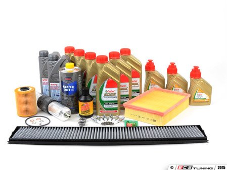 """ES#2857650 - E46M3SVCUP+KT1 - """"Complete"""" Inspection II Kit - Includes a comprehensive selection of quality parts to service your BMW including TWS Edge Professional oil - Assembled By ECS - BMW"""