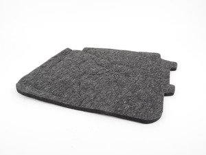 ES#449941 - 8J8864799 - Rear sound absorber - priced each - Located behind the rear seat armrest - Genuine Volkswagen Audi - Audi