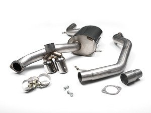 "ES#2828296 - SSXVW293 - 3"" Cat-Back Exhaust System - Non-Resonated - Get that Exhaust tone you've been looking for! Featuring polished tips. - Milltek Sport - Volkswagen"