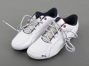 ES#2859999 - 80162354998 - BMW Motorsport Drift Cat 5 Shoes - White, Size 11 - The ultimate driving shoes for your ultimate driving machine - Genuine BMW - BMW