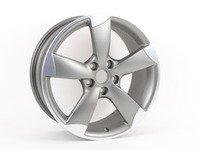 "ES#2607115 - 8P0601025EB - 18"" 5-Spoke 'Rotor' Wheel - Priced Each - 18""x7.5"" ET54 5x112 Titanium - Genuine Volkswagen Audi - Audi"