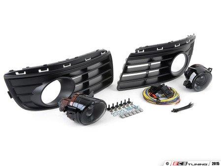 ES#2838968 - 1K0998003KT - Fog Light Conversion Kit - Genuine Projector - Complete kit to install fog lights on your Jetta - Assembled By ECS - Volkswagen