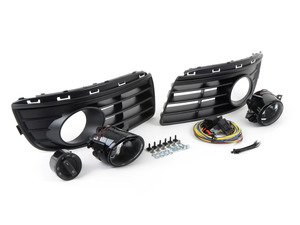 ES#7704 - 1k0998002 - Fog Light Conversion Kit - Non Projector - Complete kit to install fog lights on your Jetta, a 38 piece kit - Assembled By ECS - Volkswagen