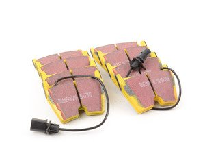 ES#520874 - DP41513R -  Front YellowStuff Performance Front Brake Pad Set - Race quailty pad that can be used at the track and back home - EBC - Audi