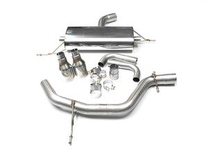 """ES#2862462 - tbmk6gti3KT - MK6 GTI 2.0T 2.75"""" Turbo Back Exhaust System - Non-Resonated - Get that Exhaust tone you've been looking for! Features 2.75"""" cat-back construction with dual 4"""" """"Jet"""" style tips, and a 3"""" downpipe with a high-flow cat - Milltek Sport - Volkswagen"""