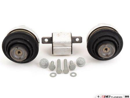 ES#2765583 - 23024000171KT1 - Drivetrain Mount Kit - Includes both Lemforder engine mounts and Lemforder transmission mount with hardware - Assembled By ECS - Mercedes Benz