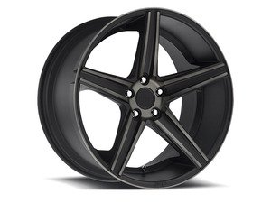 "ES#2862411 - m12620854342KT - 20"" Apex - Set Of Four - 20""x8.5"" ET42 5x112 - Black DDT/Machined - Niche Wheels - Volkswagen"