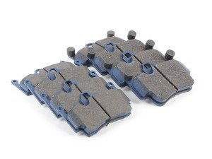 ES#2857849 - 7894-d1135KT1 - Front & Rear Cool Carbon S/T Performance Brake Pad Set - All-in-one brake pads that deliver pure undiluted performance - Cool Carbon Performance - Porsche