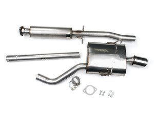 "ES#2827802 - SSXM012 - Cat-Back Exhaust System - Jet - 2.13"" stainless steel with single 90mm Jet polished tip - Milltek Sport - MINI"