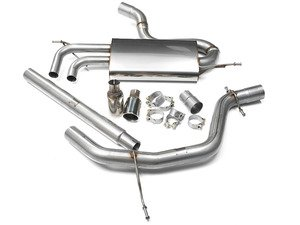 "ES#2828297 - SSXVW294 - 2.75"" Cat-Back Exhaust System - Non-Resonated - Get that Exhaust tone you've been looking for! - Milltek Sport - Volkswagen"