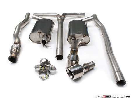 "ES#2827813 - SSXM026 - Cat-Back Exhaust System - Non-Resonated - 2.50"" stainless steel with dual 100mm Jet polished tips - Milltek Sport - MINI"