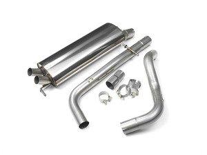 "ES#2828107 - SSXVW055 - 2.5"" Cat-Back Exhaust System - Non-Resonated - Get that Exhaust tone you've been looking for! - Milltek Sport - Volkswagen"