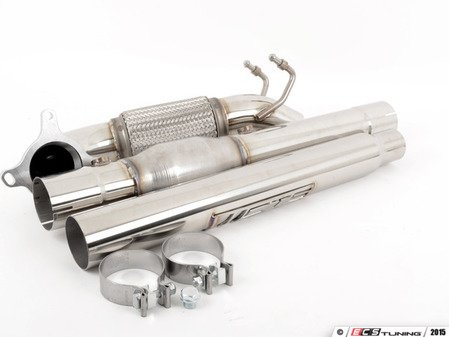 "ES#2862899 - CTSEXHDP0001CAT - 3"" High Flow Downpipe with catalytic converter - Stainless steel 3"" downpipe with high flow catalytic converter - CTS - Volkswagen"