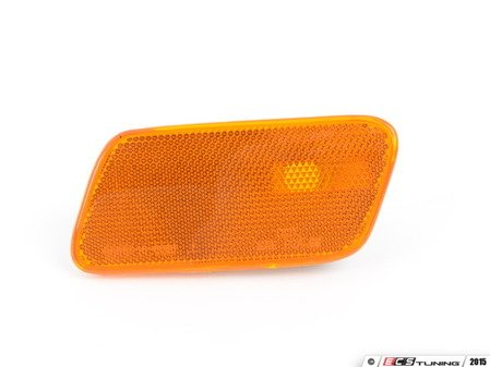 ES#2749282 - 2108201321 - Side Marker Lamp - Left Side - Amber housing only - Does not include bulb or bulb socket - TYC - Mercedes Benz