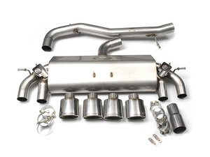 "ES#2828262 - SSXVW259 - Valved Cat-Back Exhaust System - Non-Resonated - Get that Exhaust tone you've been looking for! Features 3"" construction with quad Polished oval tips. - Milltek Sport - Volkswagen"