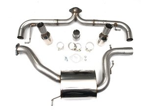 "ES#2828251 - SSXVW248 - MK6 GTI 2.0T 3"" Race Cat-Back Exhaust System - Non-Resonated - Get that Exhaust tone you've been looking for! Features 3"" construction with 4"" ""GT100"" style tips. - Milltek Sport - Volkswagen"