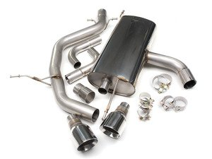 "ES#2828135 - SSXVW113 - MK6 GTI 2.0T 2.75"" Cat-Back Exhaust System - Non-Resonated - Get that Exhaust tone you've been looking for! Features 2.75"" construction with Polished 4"" ""GT100"" style tips. - Milltek Sport - Volkswagen"