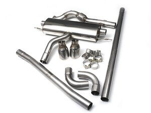 """ES#2827816 - SSXM402 - Cat-Back Exhaust System  - (NO LONGER AVAILABLE) - 2.50"""" stainless steel with dual 100mm GT100 polished tip - Milltek Sport -"""