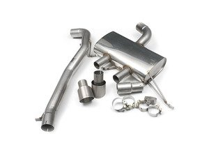 "ES#2828228 - SSXVW219 - 3"" Cat-Back Exhaust System - Non-Resonated - Get that Exhaust tone you've been looking for! Features 3"" construction with 4"" Titanium ""GT100"" style tips. - Milltek Sport - Volkswagen"
