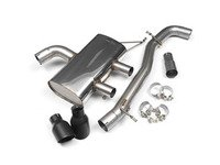 ES#2828226 - SSXVW217 - 3 Cat-Back Exhaust System - Non-Resonated - Get that Exhaust tone you#39;ve been looking for! Features 3 construction with 4 Black Velvet GT100 style tips. - Milltek Sport - Volkswagen