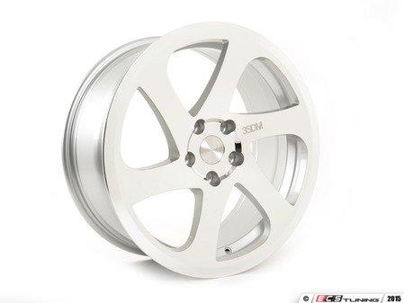 """ES#2839151 - 3SDM0059KT1 - 19"""" Style 0.06 Wheels - Square Set Of Four - 19""""x8.5"""" ET35, CB72.6mm 5x120 Silver/Cut - 3SDM - BMW"""