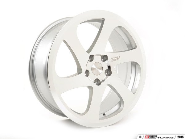 "ES#2839151 - 3SDM0059KT1 - 19"" Style 0.06 Wheels - Square Set Of Four - 19""x8.5"" ET35, CB72.6mm 5x120 Silver/Cut - 3SDM - BMW"