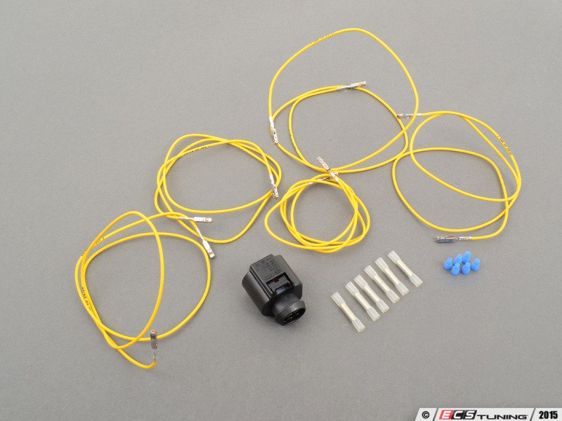 genuine volkswagen audi 4h0973713kt tsi throttle body connector rh ecstuning com chrysler connector repair kit Bumper Repair Kit