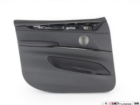 ES#2714852 - 51417369943 - Front Door Panel - Left - For vehicles with black Dakota leather upholstery - Genuine BMW - BMW