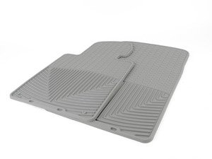 ES#2194890 - W24GR - Front All-Weather Floor Mats - gray - All-weather protection to endure the harshest conditions - WeatherTech - BMW Porsche