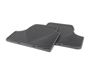 ES#2838902 - W261 - Rear All-Weather Floor Mats - Black - All-weather protection to endure the harshest conditions - WeatherTech - BMW