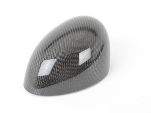 ES#79604 - 51160415375 - JCW Carbon Fiber Mirror Cap - Left - Attaches to the front of the side mirror housing - Genuine MINI - MINI
