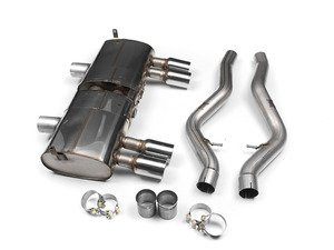 ES#2827628 - SSXBM931 - Performance Cat Back Exhaust - Polished Tips - Motorsport pedigree. Superior quality. Excellent sound. Milltek Sport cat-back exhaust with polished tips. - Milltek Sport - BMW