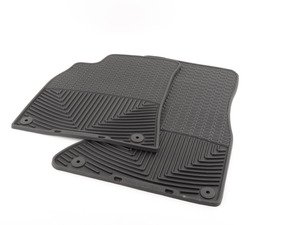 ES#2194063 - W111 - Front All-Weather Floor Mats - Black - All-weather protection to endure the harshest conditions - WeatherTech - Audi
