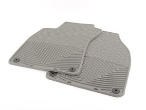 ES#2194997 - W67GR - Front All-Weather Floor Mats - Grey - All-weather protection to endure the harshest conditions - WeatherTech - Audi