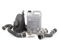 ES#2777070 - 11517839062KT4 - Cooling System Refresh Kit - Level 1 - An entry level cooling refresh kit - Assembled By ECS - BMW