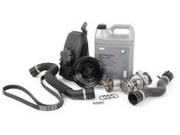 ES#2777069 - 11517839062KT3 - Cooling System Refresh Kit - Level 2 - Service your drive belt while servicing your cooling system - Assembled By ECS - BMW
