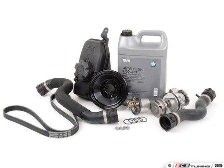 ES#2777069 - 11517839062KT3 - Cooling System Refresh Kit - Level 2 - Service your drive belt while servicing your cooling system - Assembled By ECS - BMW