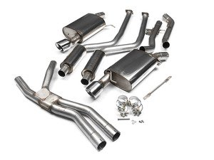 ES#2184956 - SSXBM014 - Performance Cat back exhaust - Motorsport pedigree. Superior quality. Excellent sound. Milltek Sport cat-back exhaust for enhanced performance. - Milltek Sport - BMW