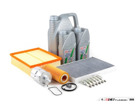 ES#258205 - B7A43.2SKKT - 40k Service Kit - Includes everything you need to complete the factory 40k service. - Assembled By ECS - Audi