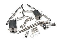 ES#2827430 - SSXAU306 - Cat-Back Exhaust System - Non-Resonated - 2.5