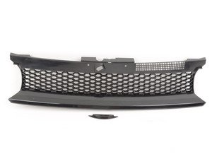 ES#2642696 - 1J1853653MOE - Honeycomb Mesh Badgeless Grille - Give your Golf a distinct look - JOM - Volkswagen