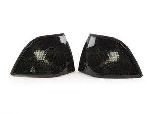 ES#2808211 - 4441505PTUES - Dark Smoke Corner Indicator Set - Dark smoke turn signal assembly set - Depo - BMW