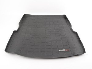 ES#2837335 - 40173 - Rear Cargo Liner - Black - The best protection for your trunk in any situation - WeatherTech - BMW