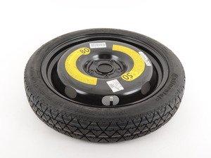 "ES#3471240 - 5G0601011 - Spare wheel/Tire - 125/70R18 tire on 18""x3.5"" ET25 steel wheel - Genuine Volkswagen Audi - Volkswagen"